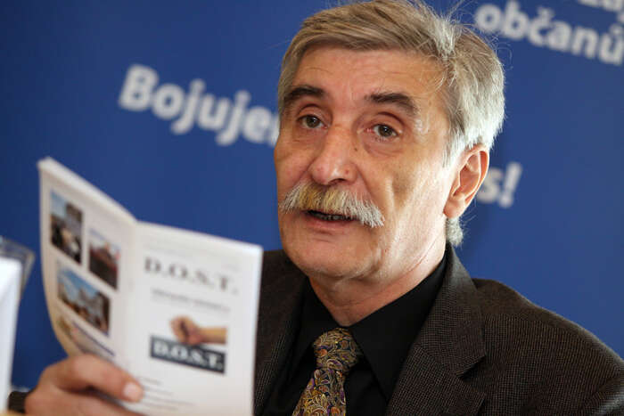 V českém prostředí ječastý pseudokonzervativismus splývající smaloměšťáctvím. Foto Vít Červinka, Mediafax