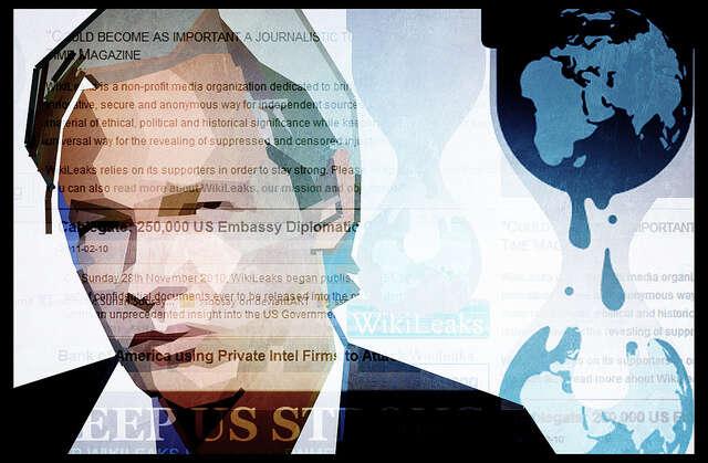 Je potřeba siuvědomit, že vpřípadě Assange nejde jen oněj osobně, ale opráva všech whistleblowerů asvobodu slova všech novinářů. Foto Suryan Soosan, flick.com