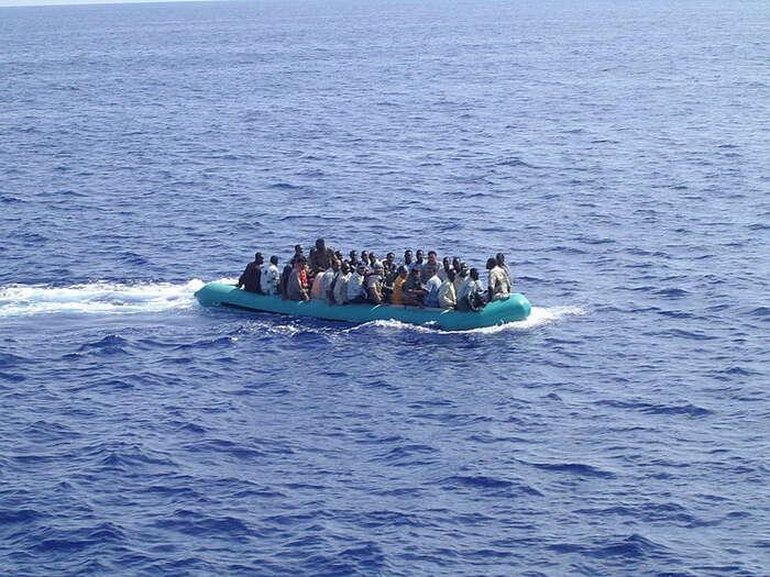 Za tragédie veStředozemním moři nese odpovědnost evropská politická elita tím, že nechala zrušit program Mare Nostrum. Foto wikipedie