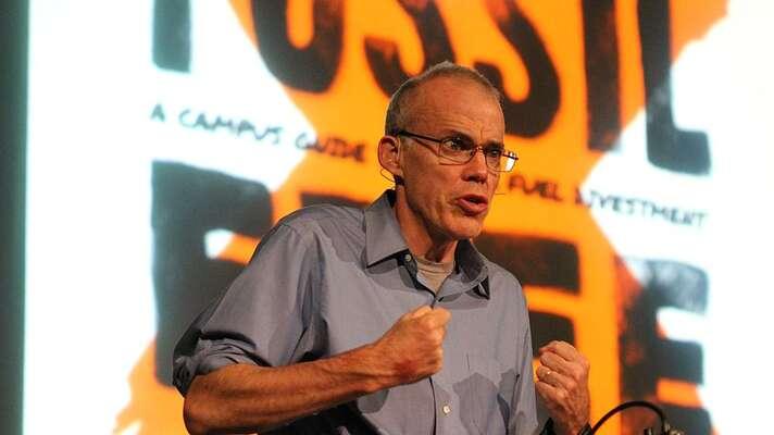 Americký ekolog Bill McKibben, zakladatel mezinárodního hnutí 350.org. Foto Steve Liptay