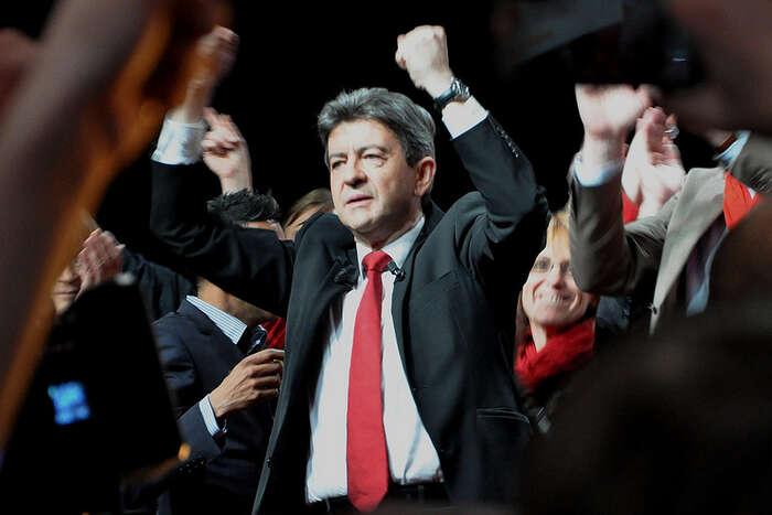 Srovnávat lze sjistým oživením levicové scény aktivitami lidí, jako jeve Francii Mélenchon nebo vBritánii Corbyn. Foto archiv DR
