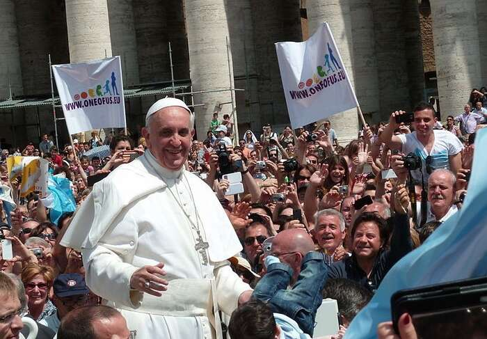 Papež František jejednou znejvětších nadějí světové politiky.