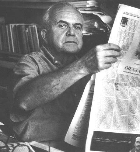 AJ Liehm byl jedním zmála českých novinářů, pro něž byl evropský rozměr jejich profese přirozenou samozřejmostí. Foto Ingrid von Krauseová