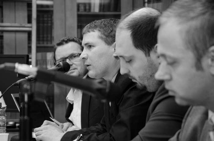 Adrian Portmann senakonecstalfavoritem zastánců původního vedení, až začal být považován zajednoho znich. Foto Saša Uhlová, DR