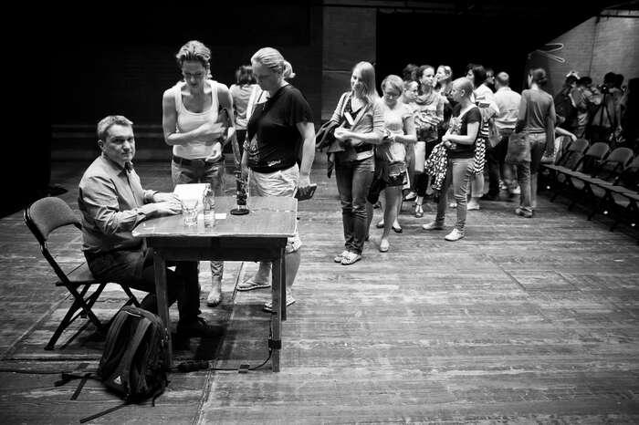 Miloš Urban adiváci festivalu Měsíc autorského čtení