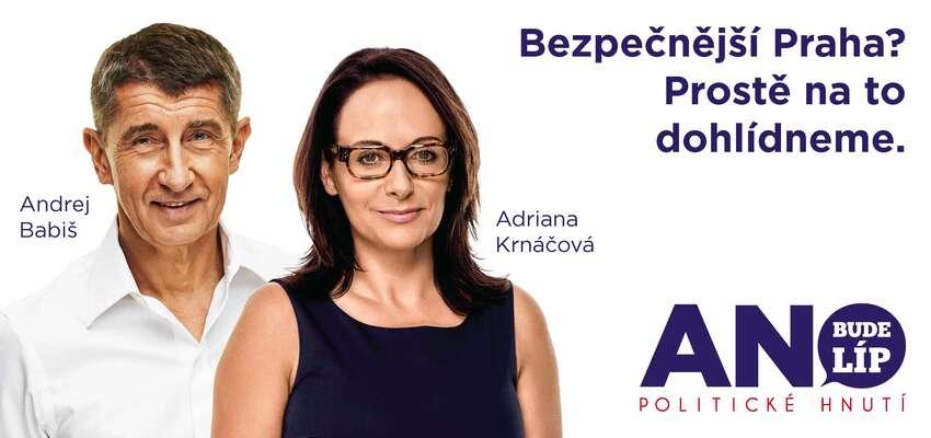 Kotrmelce, které ANO okolo pražské kandidátky předvádělo, mělo kprofesionálnímu výkonu opravdu daleko. Foto web ANO
