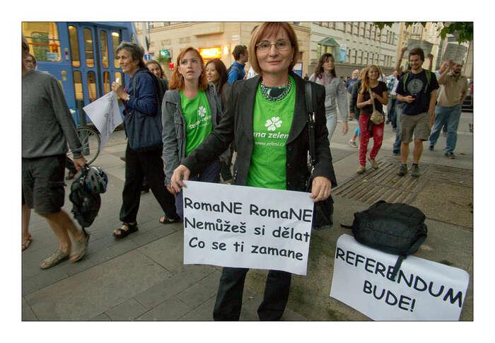 Mnoho zelených jsou aktivisté, kteří odvedli konkrétní práci ještě předtím, než přijali politické angažmá. Foto Ota Nepilý
