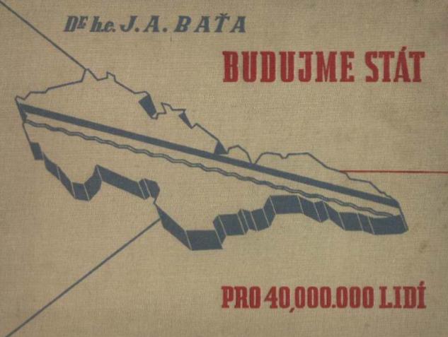 Kniha Budujme stát pro 40000 000 lidí jepozoruhodná už tím, že sesnaží být komplexní vizí pro československý stát. Foto archiv DR