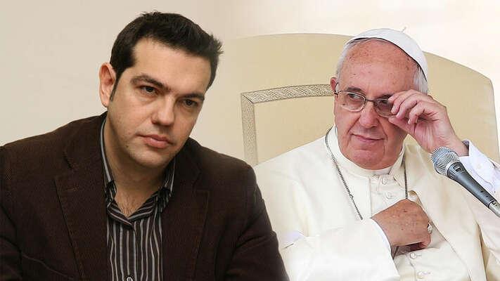 Tsipras jekomunistou asi tak jako papež František. Názory mají podobné apředstavují tonejprogresivnější vsoučasné světové politice. Foto The Toc