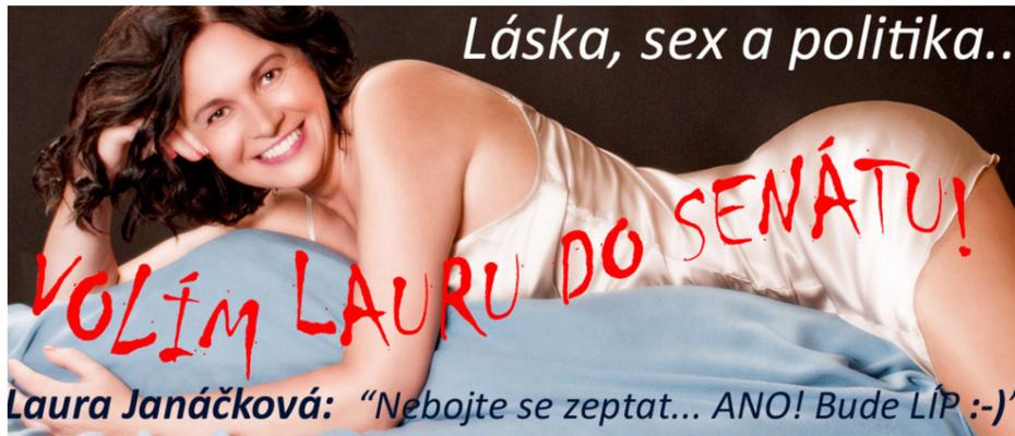 Sexuální objektifikace je, zdá se, nesmrtelná. A to ivdobě, kdy diskutujeme ozákonu, který bykodifikoval genderové kvóty nakandidátních listinách. Foto lauradosenatu.cz