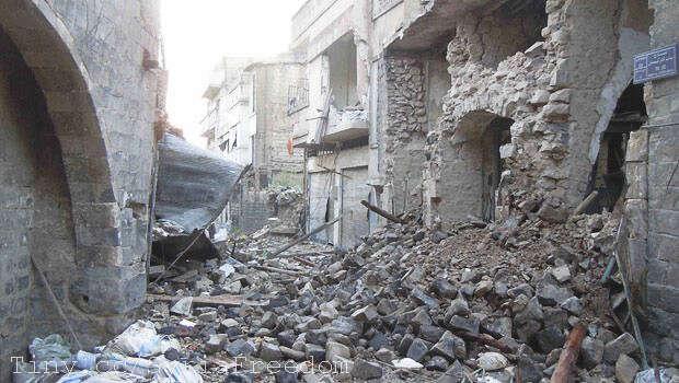 V Sýrii kintervenci západních zemí nakonec nedošlo, a jecelkem zbytečné spekulovat, zda bysituaci zlepšil či ještě zhoršil. Foto Flickr