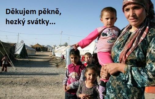 Uprchlíci jsou nepříjemným tématem, ale tentokrát už kolem něj nejde chodit pošpičkách, vláda musí zaujmout jasné stanovisko, Foto archiv autora