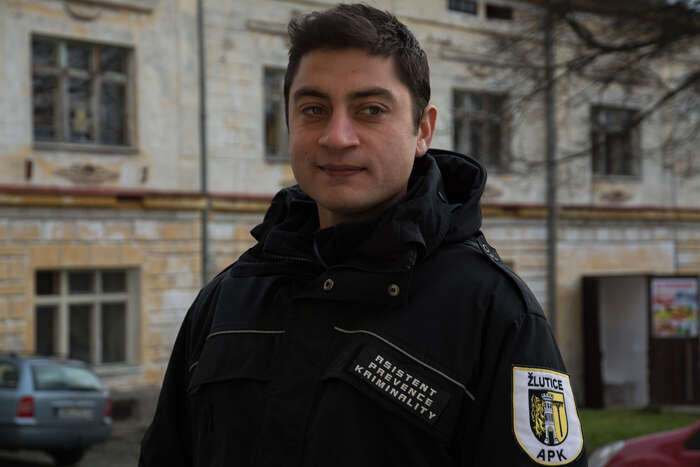 Asistent prevence kriminality Martin Oláh.