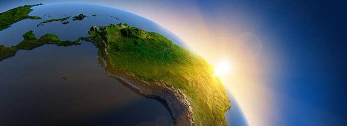 V Latinské Americe žije dnes 588 milionů lidí. VEvropě jeto 742 milionů, vUSA avKanadě dohromady 350 milionů. Repro PanamericanWorld.com