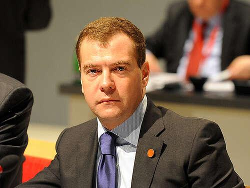 Současný ruský premiér Medveděv pospuštěníplynovodu Nord Streamzdůrazňoval, že sezvýšila energetická bezpečnost Evropy.Foto Downing Street, flickr.com