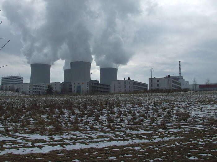 Ve všeobecném českém mínění jádro platí začistou energii. Foto ChNPP, Wikimedia Commons