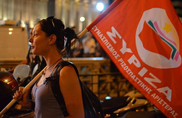 Koalice radikální levice Synaspimsos Rizospastika Aristeras (SYRIZA) byla založena roku 2004. Foto archiv GreekReporter.com