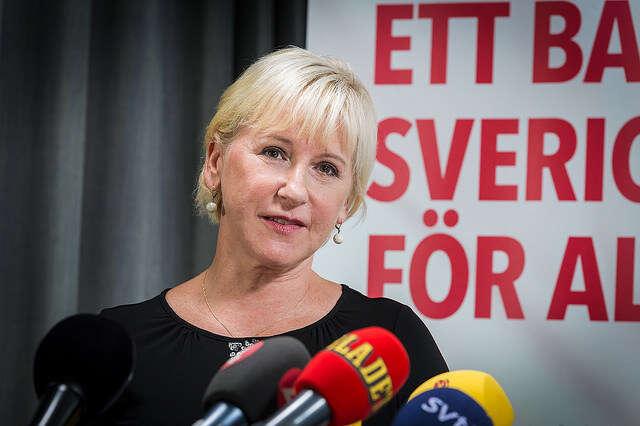 Švédská ministryně zahraničí Margot Wallströmová serozhodla ohlížet sena lidská práva stylem padni komu padni. Foto Socialdemokraterna, Flickr