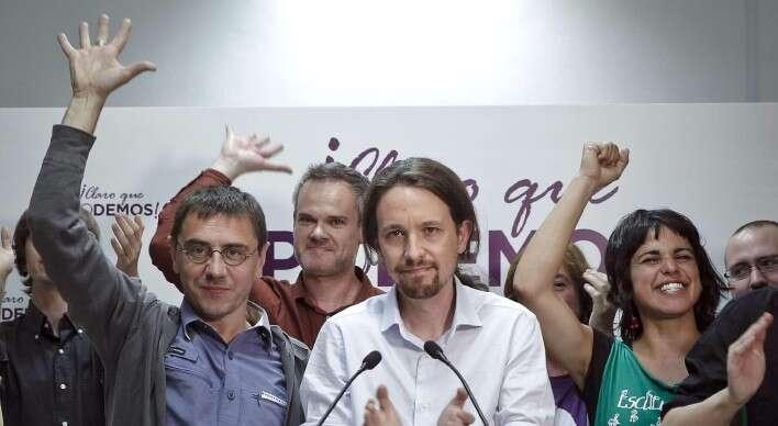 Podemos svým jednoduchým jazykem neslibují, že samo jejich vítězství lidem jejich slast vrátí. Slibují pouze tolik, že sesilným mandátem zpřístupní lidem mechanismus, kterým selze naspravedlivější distribuci slasti podílet. Foto infolibre.es