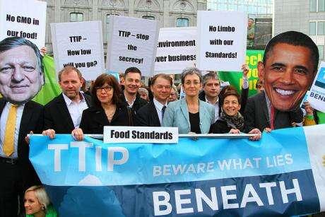Ne všichni politikové berou téma nalehkou váhu. Foto Greens/EFA, flickr.com