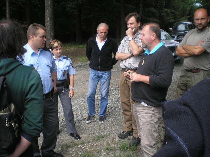 Na nezvedné turisty zavolal majitel obory policii. Foto: Radek Kubala