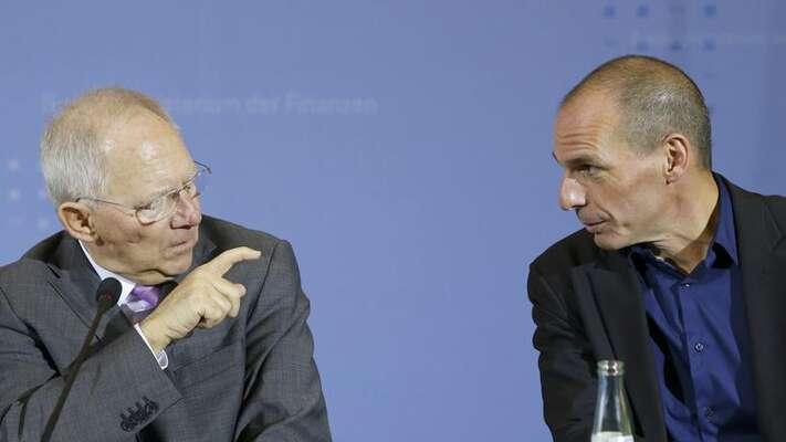 Strategii pocelou dobu řídil německý ministr financí Schäuble. Počítal stím, že nakonec řeckou vládu zažene dokouta, kde mubude vydána namilost anemilost. Což senakonec stalo. Foto The Toc