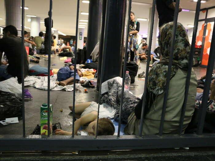 Maďarsko patří kestátům, které uprchlickou krizi přestaly zvládat. Foto Ondřej Mazura, DR