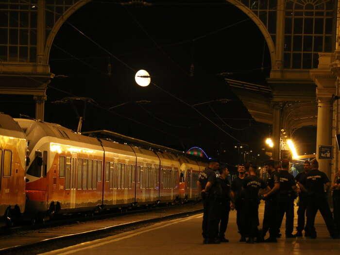 Vlak, vněmž touží být tisíce lidí. Foto Ondřej Mazura, DR