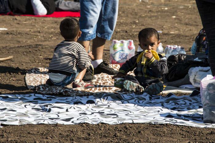 Čtyřicet procent nově příchozích doŘecka jsou děti. Foto Fatima Rahimi, DR