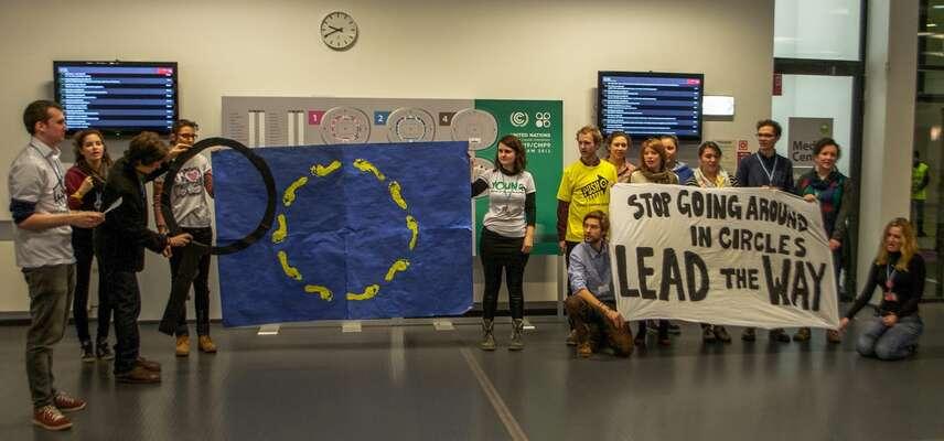 Evropo, přestaň chodit vkruzích aveď kupředu. Foto Friends ofthe Earth