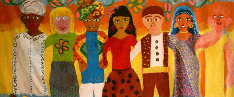 Úkolem většiny vmultikulturním státě jepředevším tvořit příznivé, tolerantní avstřícné prostředí pro menšiny. Repro calstatela.edu