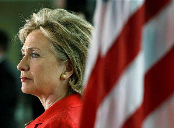 Hillary Clinton, tehdejší ministryně zahraničí, vprojevu ze6. prosince 2011 nakonferenci OSN olidských právech, uvedla, že Spojené státy považují práva LGBT osob zaneodlučitelnou součást lidských práv. Foto USMission Canada, flickr.com