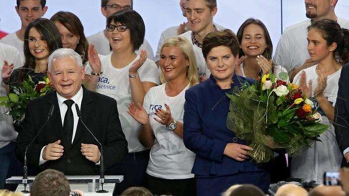 V říjnu vyhrála polské parlamentní volby konzervativní strana Právo a
