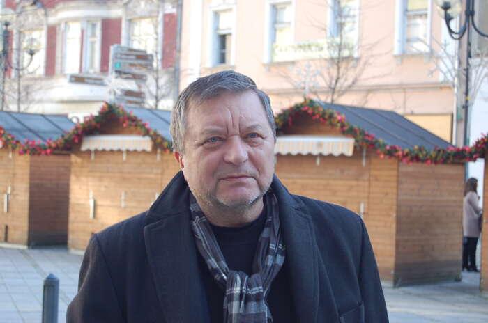 Podle Karla Sibinského nikdo jiný než Miroslav Novák jedničkou nakrajské kandidátce být nechce.Foto Jaroslav Bican, DR