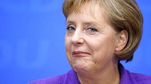 Navzdory zjednodušeným titulkům českých médií opotrestání uprchlické politiky Angela Merkelová vevolbách spíše uspěla. Foto dealbreaker.com