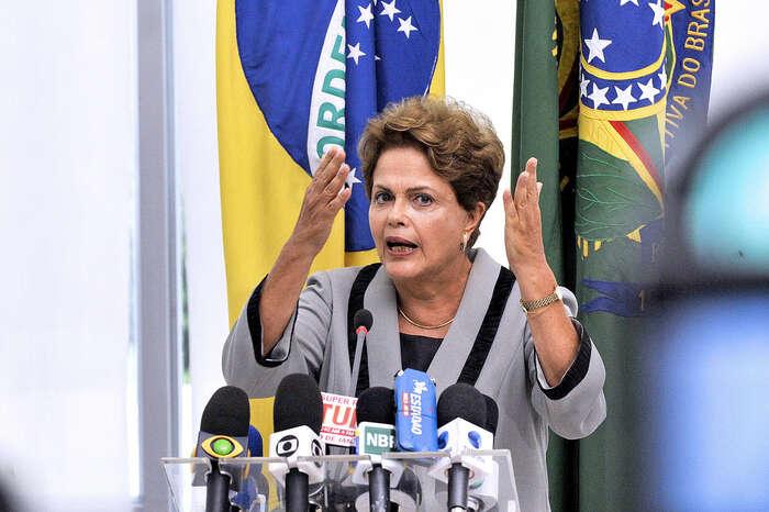 Dilma Rousseffová stála včele své země nepřetržitě odledna 2011. Foto Jonas Pereira/AS, flickr.com