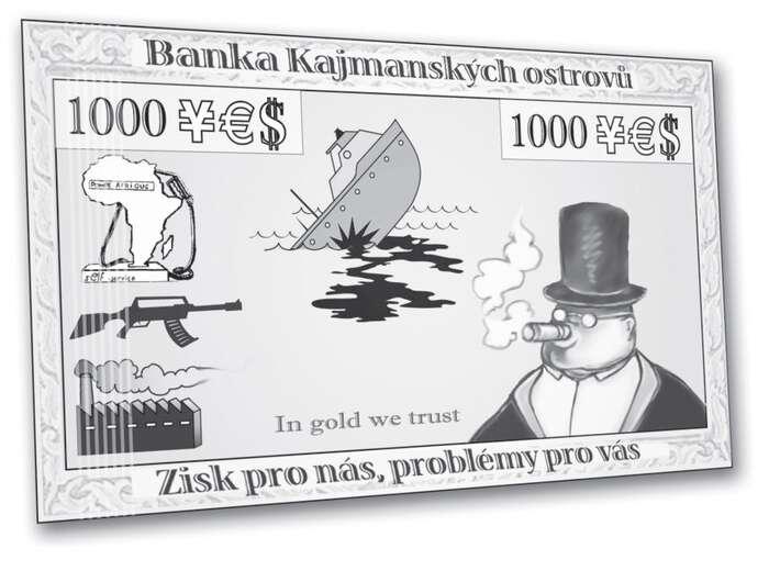 Naše problémy navaše bedra, pozdrav zdaňových rájů. Zdroj EDUCON