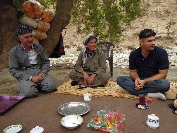 Kurdové jsou rozmanitá skupina, kterou spojuje především jejich vlastní sebeurčení. Foto Archiv Lukasze Firly