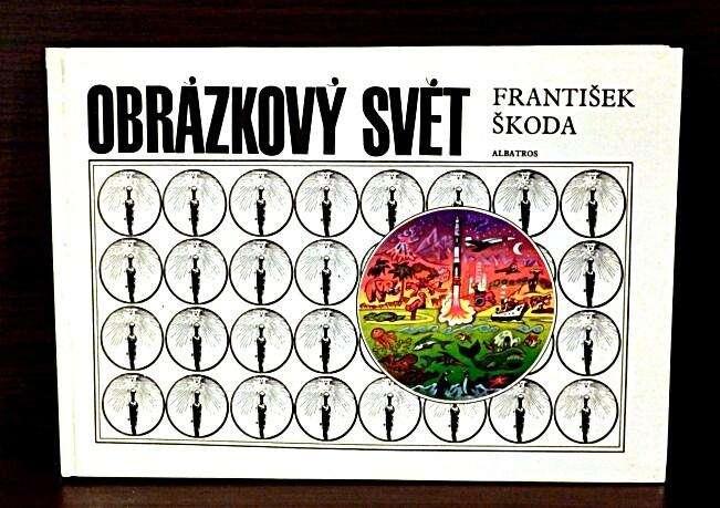 Obrázkový svět Františka Škody vyšel vpolovině 80. let. Repro Antikvakriát Bosorka