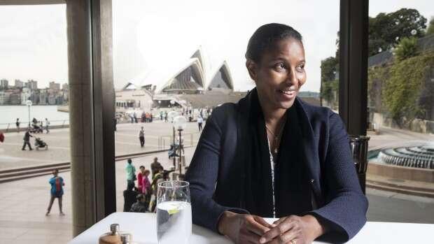 Sama sevnímá jako politička jednoho tématu, atím jeislám azejména postavení žen vislámu. Foto afr.com