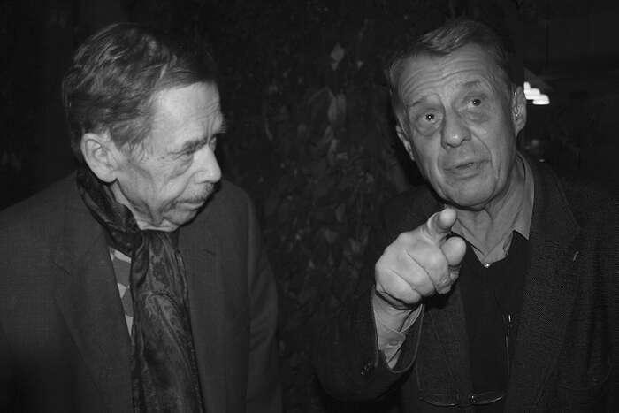 Havel byl svobodný člověk, ikdyž byl vězněn, píše Petr Uhl. Foto Michal Uhl