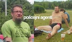 Utajení agenti: Petr jevlevo, Robert vpravo. Foto asociace Alerta