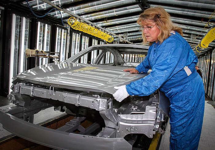 Čekají zaměstnance vprůmyslu zlaté časy azvyšování mezd? Foto General Motors