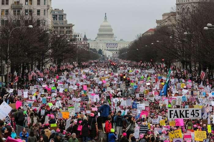 Pokud pochod žen naWashington předznamenal věci příští, jednalo seodobrý začátek. Foto WMoW