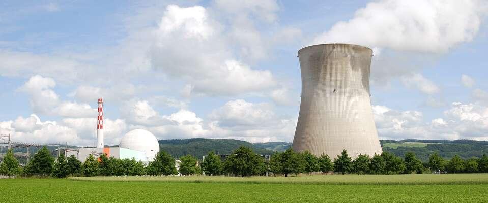 Jaderná elektrárna Leibstadt produkuje proud zatakových výrobních nákladů, že jenedokáže sama ufinancovat. Foto Wladyslaw Sojka.