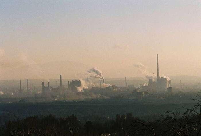 OstravskéRadvanice jsou nejznečištěnejším městem vrepublice. Foto: Petr Štefek, WmC
