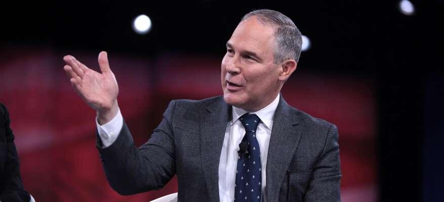 Jedním zklimaskeptiků vTrumpově týmu jeiScott Pruitt, čerstvě potvrzený ředitel EPA, tedy defacto ministr životního prostředí. Foto archiv The Digg