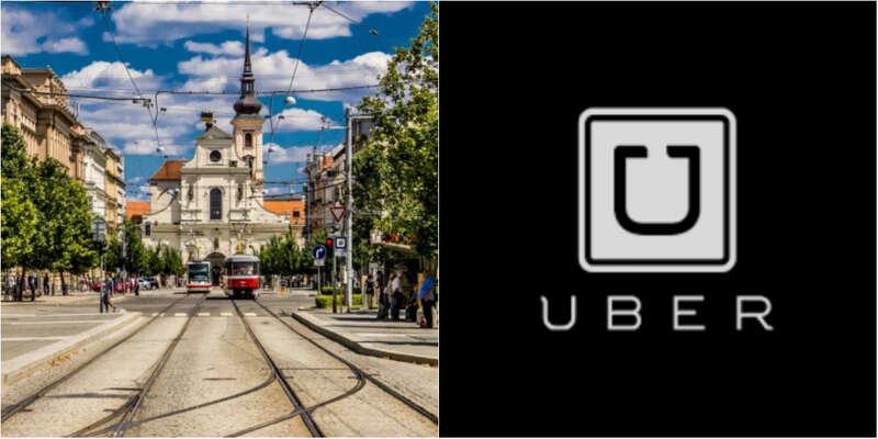 Je tovpodstatě úplně normální taxík. Jenom nedodržuje zákony. Proto může být levnější. Foto Uber