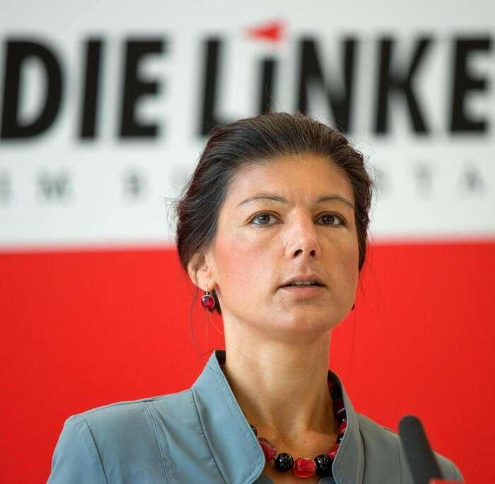 Sahra Wagenknechtová pak pod tlakem sama prohlásila, že jetřeba raději tuto absurdní debatu vzájmu jednoty ukončit. Toje pro nás poučné. Foto archiv DR