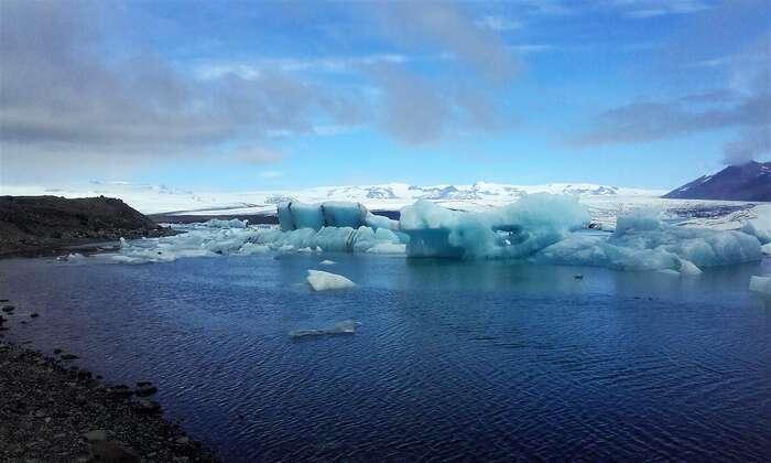 Ústí ledovce. Foto Tomáš Bakoš